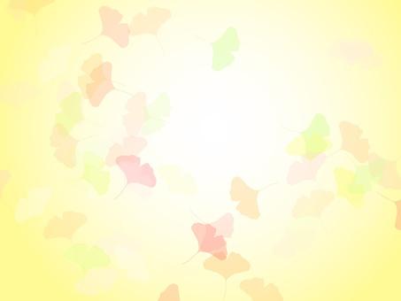 나비 가을 프레임