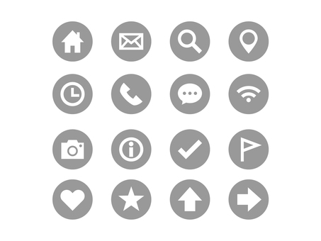 Basic icon set (gray) 2