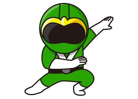 Green Ranger - Transformation