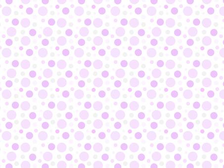 ai polka dot pattern with swatch background purple