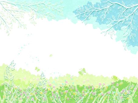 Spring landscape 10
