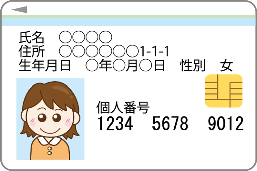 My number card