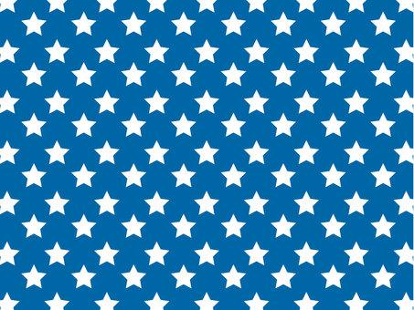 Star pattern (Blue)