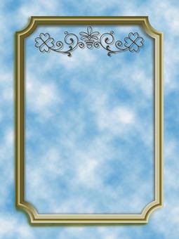 Clover frame vertical E
