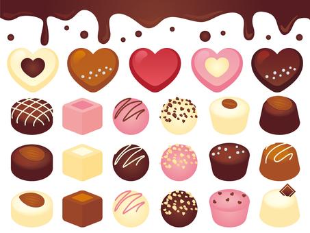 초콜릿 가득