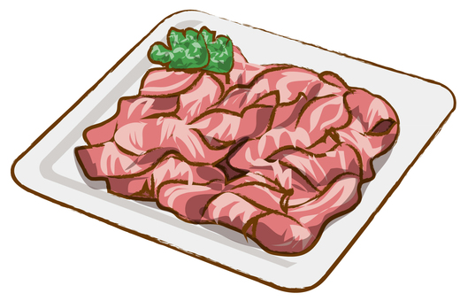 Pork small break