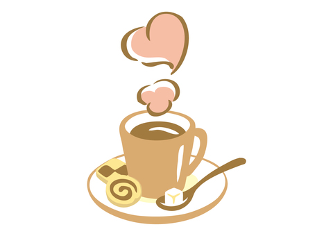HOT chocolate heart steam
