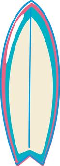 Summer image surfboard