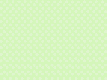 Handwritten polka dot (yellow green)
