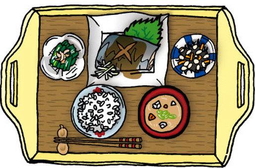 Soba Miso Set meal