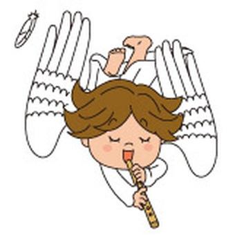 笛の天使2白
