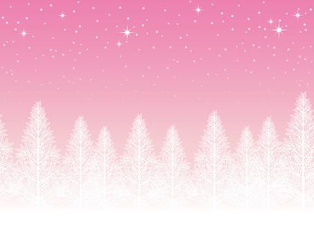 Seamless snow scene
