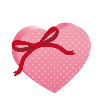 Valentine's Heart Present
