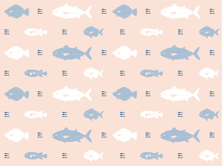 Fish pattern (edible)