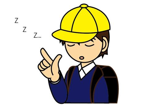 갑자기 잠 초등학생