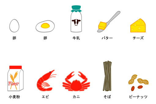 Specified raw materials (7 items) Color