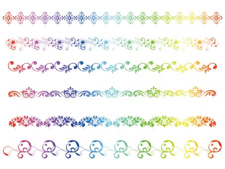 Line Rainbow