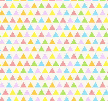 Colorful pattern - triangle M