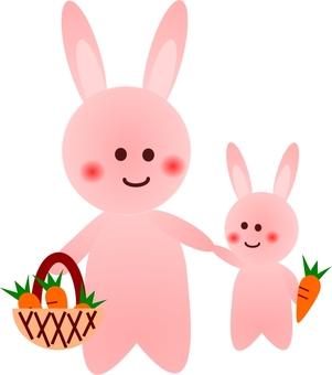 Usagi (parent and child 2)