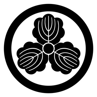 Tsukamon Maru three crest Japanese family crest