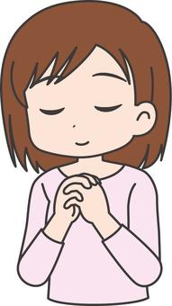 Female · Prayer