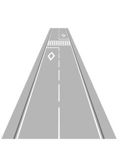 Road and Crosswalk 2