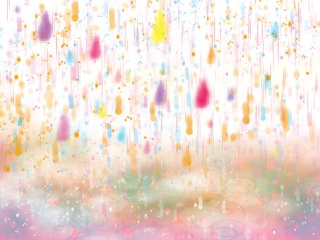 Seven colors of rain