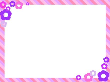 Frame Flower Pink