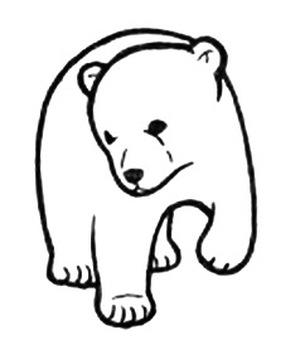 Child polar bear