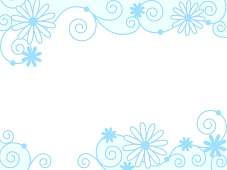 Pastel Flower Frame