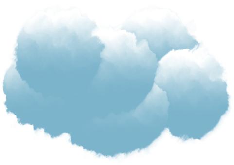 フ ワ 雲 A4