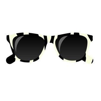 Sunglasses _ Zebra pattern