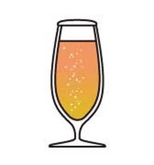 Beer _ flute glass
