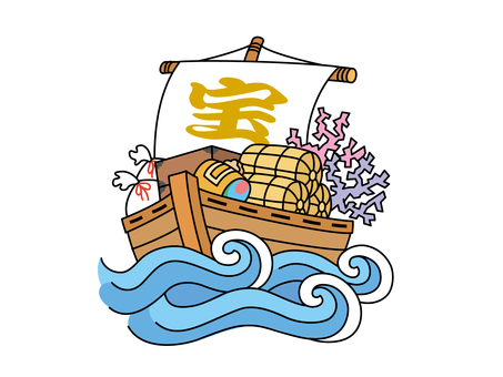 Undulation waves and treasure ships
