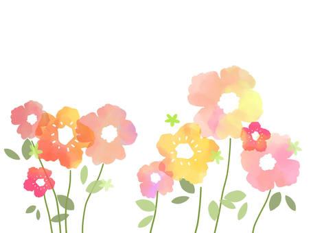 花背景2 赤