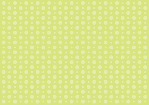 Wallpaper - large and small spots - green