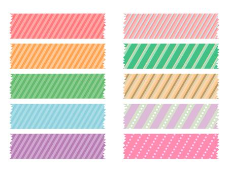 Stripe tape