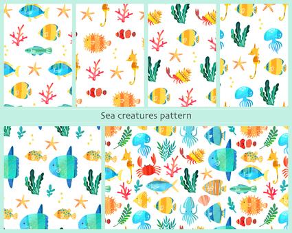Fish pattern set