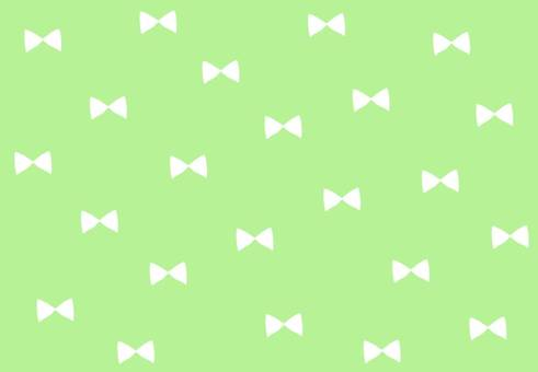 Ribbon background 【Green】