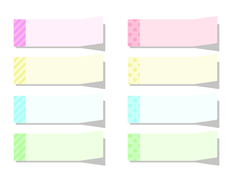 Stop set · pastel color