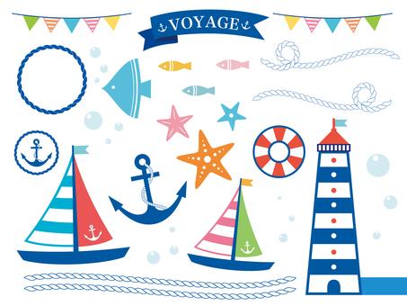 Sea illustration collection (2)