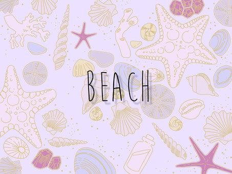 夕暮れビーチ