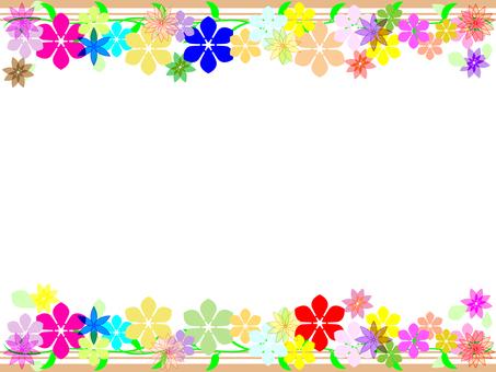 Flower frame 05