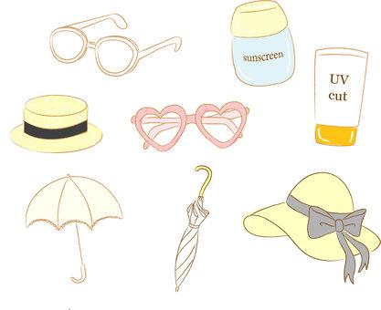 Sun protection goods