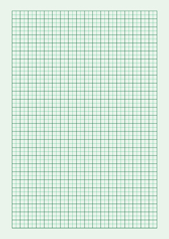 Graph paper pattern (green)