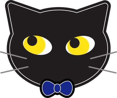 Black Cat Ribbon 3