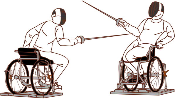 Wheelchair fencing at the Paralympic Games