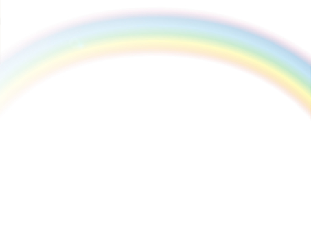 Rainbow _PNG through / Rainbow