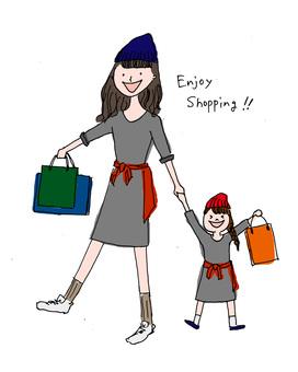 妈妈的孩子购物