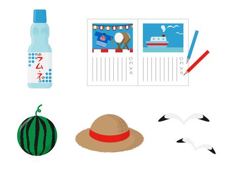 Simple summer motif variety 6